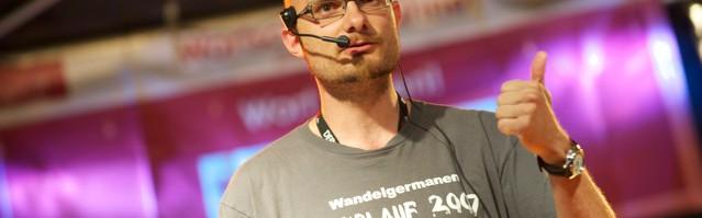 Oliver Uschmann auf dem Wortschatz-Festival bei Bochum T