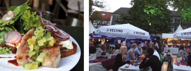 Kulinarischer Altstadtmarkt in Hattingen