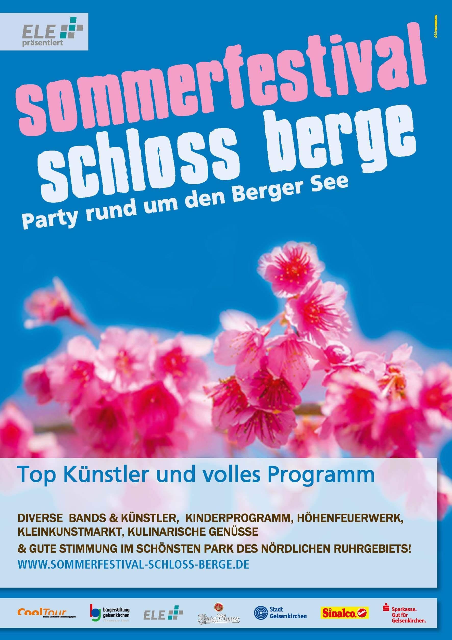 Sommerfest Schloss Berge 2018