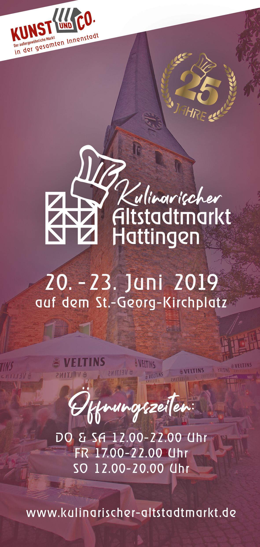 Kulinarischer Altstadtmarkt Hattingen 2019
